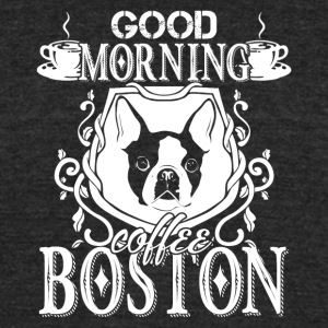 Boston Terrier Shirt - Unisex Tri-Blend T-Shirt by American Apparel