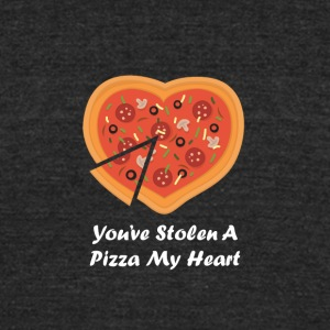 You've Stolen A Piece Of My Heart - Unisex Tri-Blend T-Shirt by American Apparel