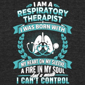 I Am A Respiratory Therapist T Shirt - Unisex Tri-Blend T-Shirt by American Apparel
