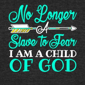 I Am A Child of God Christian T Shirt - Unisex Tri-Blend T-Shirt by American Apparel