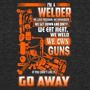 I'm A Welder T Shirt - Unisex Tri-Blend T-Shirt by American Apparel