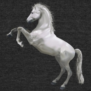 horse457 - Unisex Tri-Blend T-Shirt by American Apparel