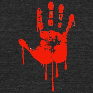 Red Right Hand - Unisex Tri-Blend T-Shirt by American Apparel