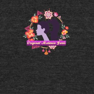 flowery - Unisex Tri-Blend T-Shirt by American Apparel