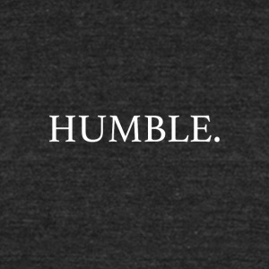 humble. (kendrick) - Unisex Tri-Blend T-Shirt by American Apparel