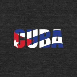 country Cuba - Unisex Tri-Blend T-Shirt by American Apparel