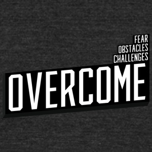 Overcome - Unisex Tri-Blend T-Shirt by American Apparel