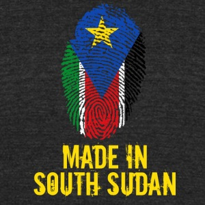 Made In South Sudan - Unisex Tri-Blend T-Shirt by American Apparel