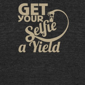 Get your selvie a yield - Unisex Tri-Blend T-Shirt by American Apparel