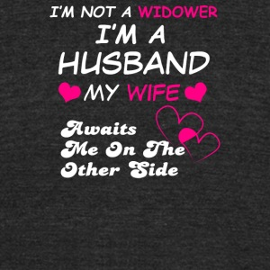 I Not A Widower - Unisex Tri-Blend T-Shirt by American Apparel