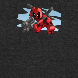 lego deadpool - Unisex Tri-Blend T-Shirt by American Apparel