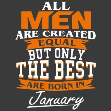 4d17cf0e1 All men the best are born in January - Unisex Tri-Blend T-Shirt