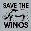 save the winos - Unisex Tri-Blend T-Shirt