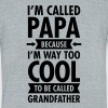 I'm Called Papa Because I'm Way Too Cool... - Unisex Tri-Blend T-Shirt