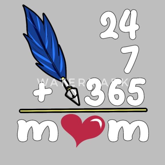 from Son//Daughter 24//7//365 = MOM Toddler Hoodie Tstars
