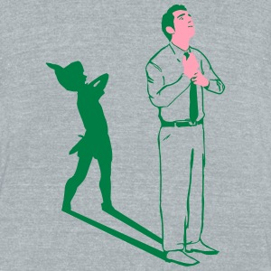 Peter Pan - Unisex Tri-Blend T-Shirt by American Apparel