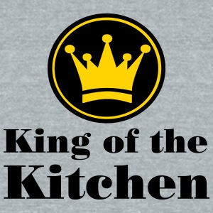 King of the Kitchen - Unisex Tri-Blend T-Shirt by American Apparel