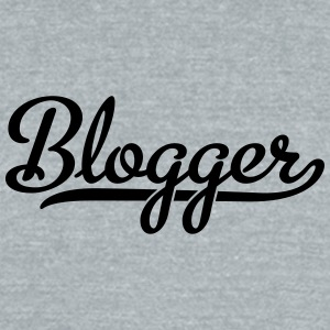 blogger - Unisex Tri-Blend T-Shirt by American Apparel