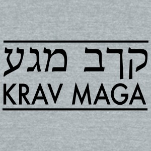 Krav Maga - Unisex Tri-Blend T-Shirt by American Apparel
