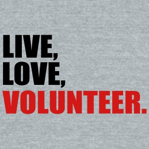 volunteer - Unisex Tri-Blend T-Shirt by American Apparel