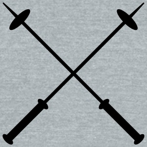 skipole ski - Unisex Tri-Blend T-Shirt by American Apparel