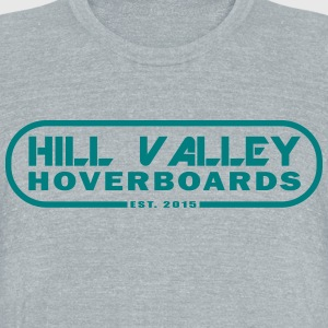 Hill Valley Hoverboards - Unisex Tri-Blend T-Shirt by American Apparel