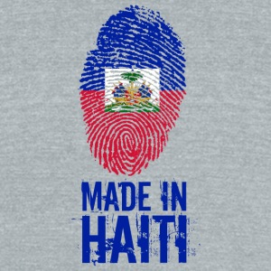 Made In Haiti / Ayiti / Haïti - Unisex Tri-Blend T-Shirt by American Apparel