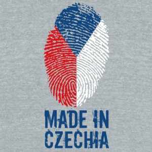 Made in Czechia / Česká - Unisex Tri-Blend T-Shirt by American Apparel