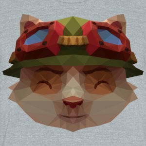 League of Legends Teemo - Unisex Tri-Blend T-Shirt by American Apparel