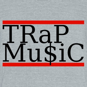 Trap Mu$ic - Unisex Tri-Blend T-Shirt by American Apparel