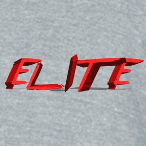 Elite logo in chest - Unisex Tri-Blend T-Shirt by American Apparel