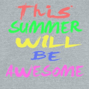 Summer - Unisex Tri-Blend T-Shirt by American Apparel