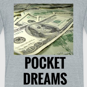 POCKET DREAMS - Unisex Tri-Blend T-Shirt by American Apparel