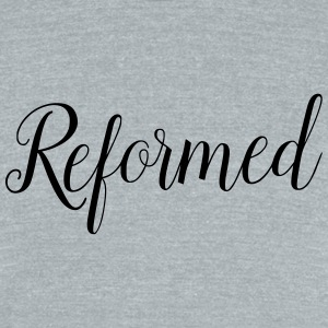 reformed - Unisex Tri-Blend T-Shirt by American Apparel