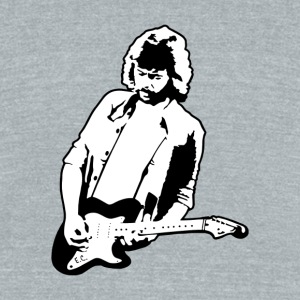 Eric Clapton - Unisex Tri-Blend T-Shirt by American Apparel