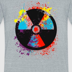 Radiation - Color Radiation - Unisex Tri-Blend T-Shirt by American Apparel