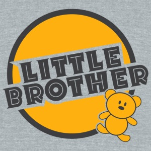 Brother - Little brother - Unisex Tri-Blend T-Shirt by American Apparel