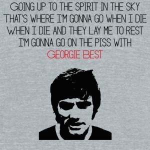 GeorgeBest - Unisex Tri-Blend T-Shirt by American Apparel