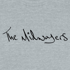 The Midwayers - Handwriting - Unisex Tri-Blend T-Shirt by American Apparel