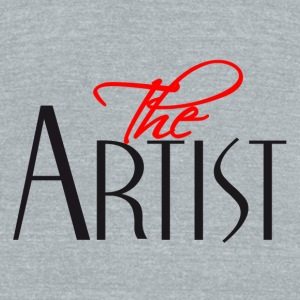 The Artist - Unisex Tri-Blend T-Shirt by American Apparel