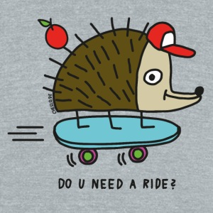 Do u need a ride? by Cheslo - Unisex Tri-Blend T-Shirt by American Apparel