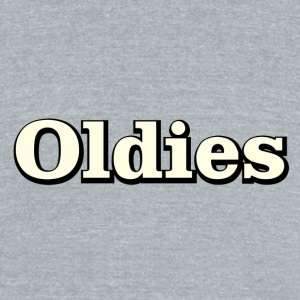 oldies - Unisex Tri-Blend T-Shirt by American Apparel