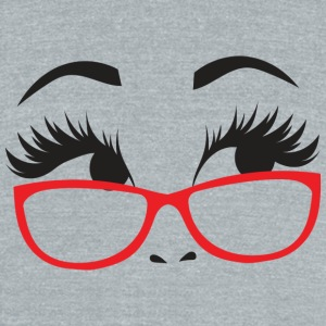 nerd GIRL - Unisex Tri-Blend T-Shirt by American Apparel