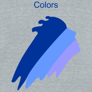 Colors - Unisex Tri-Blend T-Shirt by American Apparel