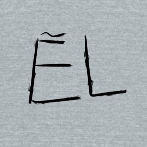 El - Unisex Tri-Blend T-Shirt by American Apparel