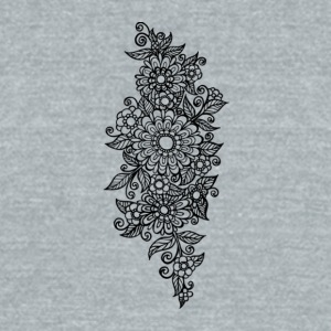 A Tangle of Daisies - Unisex Tri-Blend T-Shirt by American Apparel