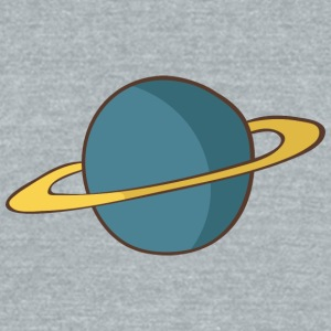 planet 1 - Unisex Tri-Blend T-Shirt by American Apparel