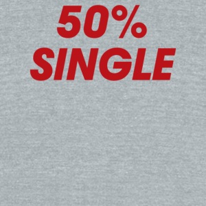 50 Single - Unisex Tri-Blend T-Shirt by American Apparel
