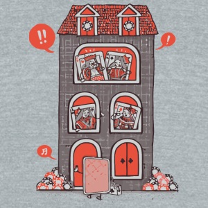 Full House - Unisex Tri-Blend T-Shirt by American Apparel