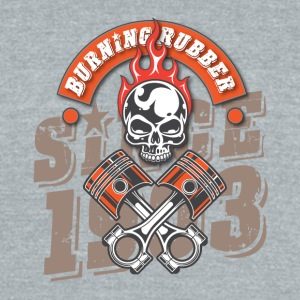 Burning Rubber Since 1903 - Unisex Tri-Blend T-Shirt by American Apparel